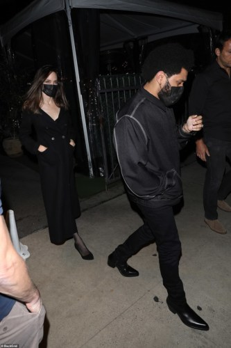 The Weeknd And Angelina Jolie Spark Dating Rumors #Arewapublisize
