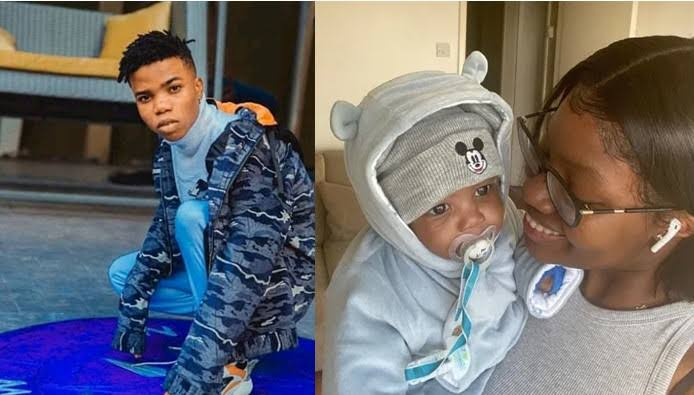 """""""This Is All I Ever Wanted"""" – Lyta's Baby Mama, Kemi Ecstatic As He Reunites With Their Son #Arewapublisize"""