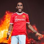 MusicXFootball: Burna Boy Pulled Up At Manchester To Support Pogba, Cristiano Ronaldo.. | Watch Videos
