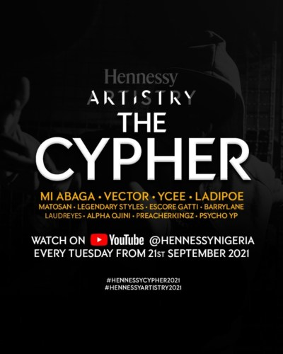 Hennessy Artistry 2021 Cyphers – Meet the Artists #Arewapublisize