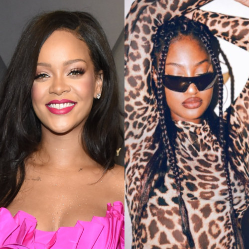 Rihanna 'Over The Moon' As She Meets Tems For The First Time #Arewapublisize
