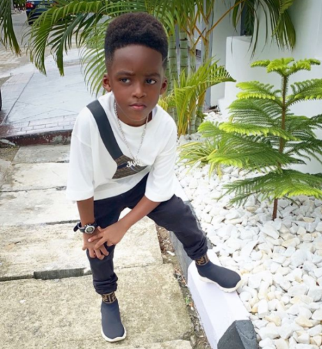 Tiwa Savage's Son, Jamil Enlightens His Mum On Why He Is Famous #Arewapublisize