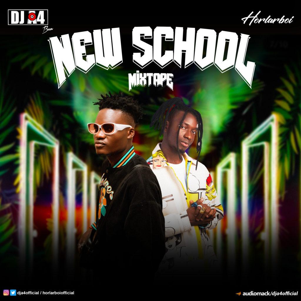 "[DJ Mix] DJ A4 – ""New School Mixtape"" #Arewapublisize"
