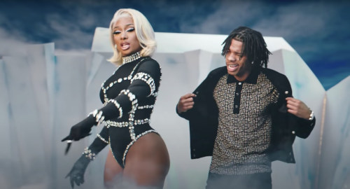 Lil Baby Looks Lost Next To Megan Thee Stallion At 2021 Met Gala #Arewapublisize