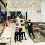 Rudeboy Reunites With his Wife, Anita and Kids
