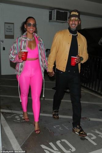 Alicia Keys And Hubby, Swizz Beatz Boogie Down At Wizkid's MIL LA Tour #Arewapublisize
